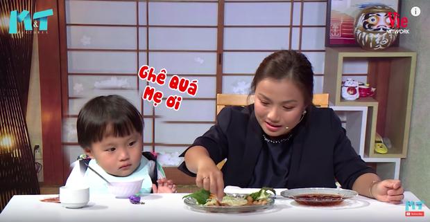 Quỳnh Trần JP réo tên Trấn Thành ngay trong lần đầu ăn thử đuông dừa trên truyền hình, loạt biểu cảm của bé Sa trước món này khiến fan cười ngất - Ảnh 10.