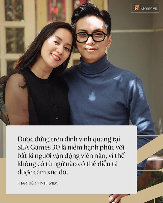 Khánh Thi - Phan Hiển kể lại chặng đường giành HCV SEA Games 30, lần đầu tiết lộ về hôn lễ: Cô ấy sẽ mặc váy cưới sớm thôi - Ảnh 2.
