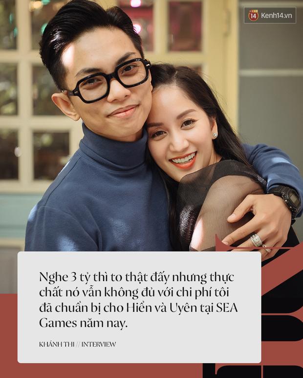 Khánh Thi - Phan Hiển kể lại chặng đường giành HCV SEA Games 30, lần đầu tiết lộ về hôn lễ: Cô ấy sẽ mặc váy cưới sớm thôi - Ảnh 3.