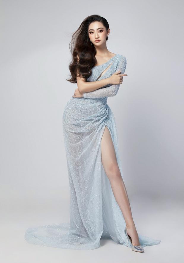 Lương Thùy Linh hé lộ trang phục dạ hội khoe đôi chân cực phẩm 1m22, đã sẵn sàng cho đêm chung kết Miss World tối nay - Ảnh 4.
