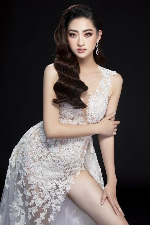 Lương Thùy Linh hé lộ trang phục dạ hội khoe đôi chân cực phẩm 1m22, đã sẵn sàng cho đêm chung kết Miss World tối nay - Ảnh 7.