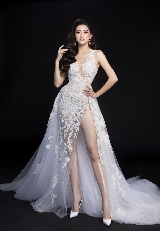 Lương Thùy Linh hé lộ trang phục dạ hội khoe đôi chân cực phẩm 1m22, đã sẵn sàng cho đêm chung kết Miss World tối nay - Ảnh 8.