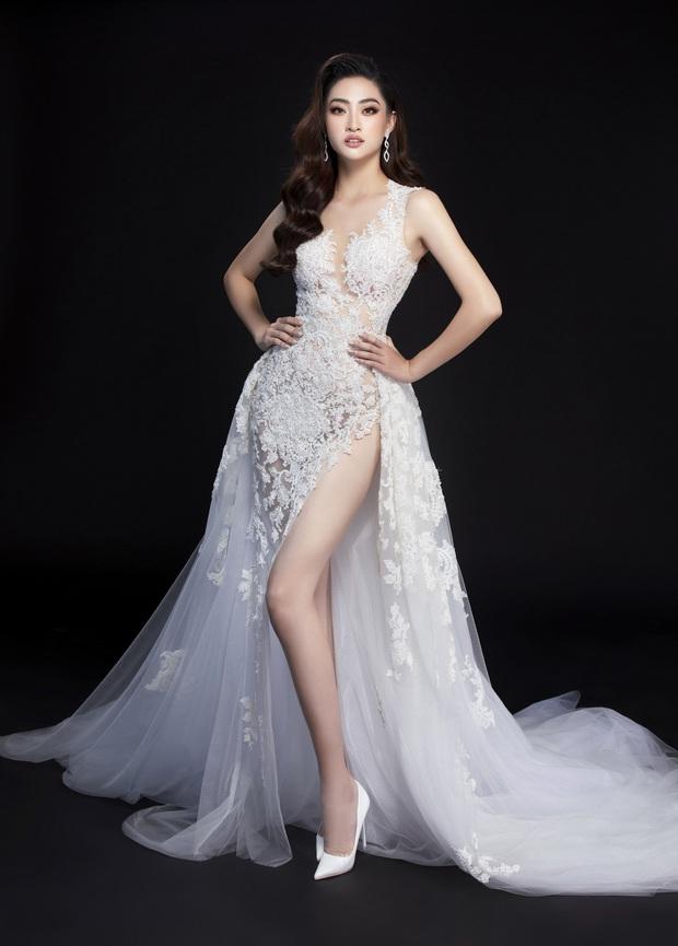 Lương Thùy Linh hé lộ trang phục dạ hội khoe đôi chân cực phẩm 1m22, đã sẵn sàng cho đêm chung kết Miss World tối nay - Ảnh 9.