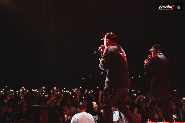 Vỡ oà với sân khấu hội ngộ của huyền thoại nhạc rap LK và công chúa của Lady Killah Emily tại Beck'Stage Unexpected Rap Fest - Ảnh 4.