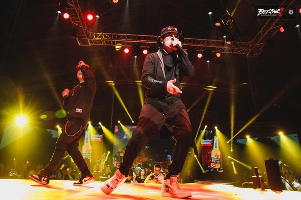 Vỡ oà với sân khấu hội ngộ của huyền thoại nhạc rap LK và công chúa của Lady Killah Emily tại Beck'Stage Unexpected Rap Fest - Ảnh 2.