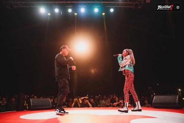Vỡ oà với sân khấu hội ngộ của huyền thoại nhạc rap LK và công chúa của Lady Killah Emily tại Beck'Stage Unexpected Rap Fest - Ảnh 9.