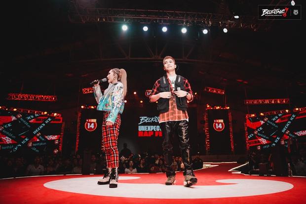 BigDaddy và Emily chuốc say người hâm mộ bằng loạt bản hit đình đám trên sân khấu BeckStage Unexpected Rap Fest! - Ảnh 5.