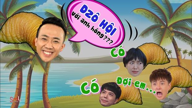 Quỳnh Trần JP réo tên Trấn Thành ngay trong lần đầu ăn thử đuông dừa trên truyền hình, loạt biểu cảm của bé Sa trước món này khiến fan cười ngất - Ảnh 7.