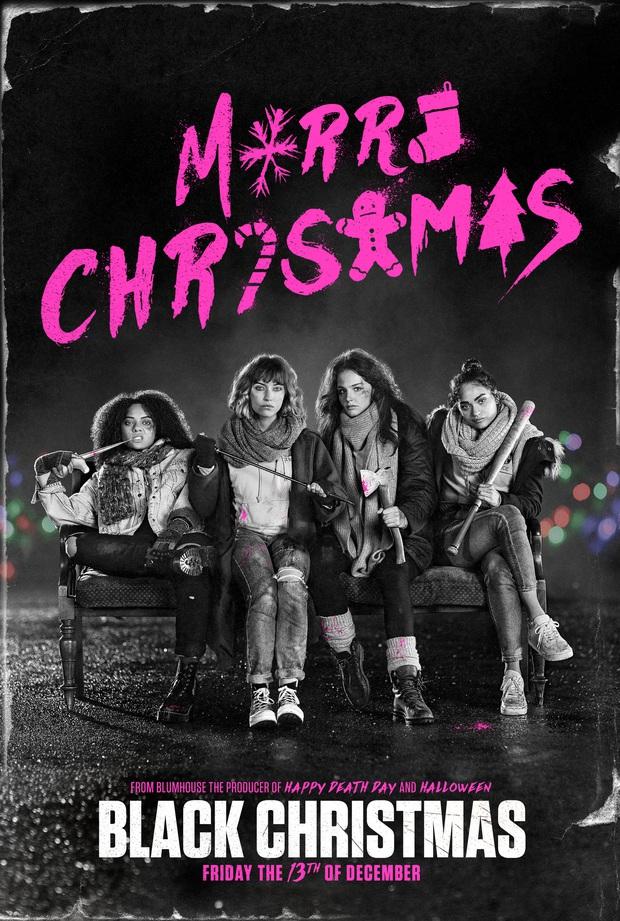 Cố đu trend nữ quyền, phim kinh dị Black Christmas thành thảm họa mùa Giáng Sinh - Ảnh 1.