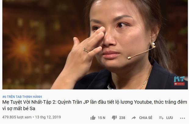 4 TV Show phủ sóng top 10 trending YouTube, show của Quỳnh Trần JP & bé Sa lên hạng chưa đến 24 tiếng - Ảnh 9.