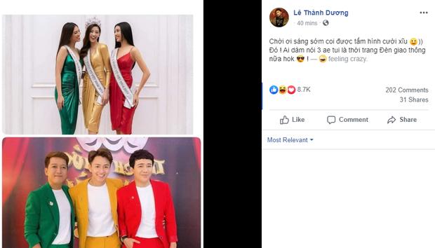 Top 3 Hoa hậu Hoàn vũ VN học style của bộ 3 Thách thức danh hài? - Ảnh 6.