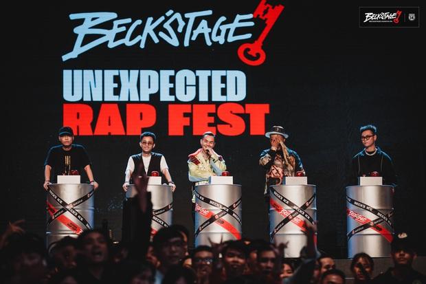 BeckStage Unexpected Rap Fest - Thăng hoa trong từng khoảnh khắc, đưa battle rap lên một tầm cao mới và khẳng định sức mạnh của Underground! - Ảnh 42.