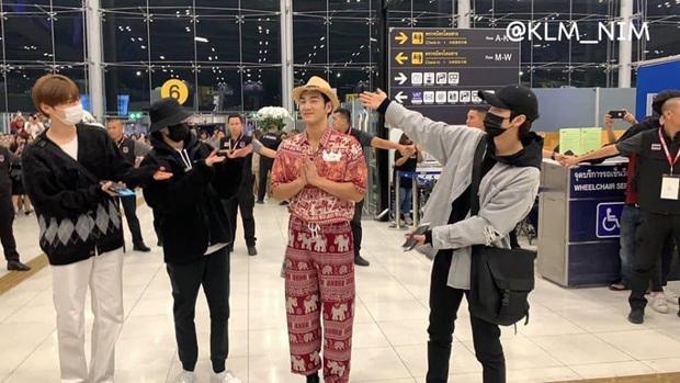 Quỳ với thời trang sân bay của idol nhóm NU'EST: Diện nguyên bộ đồ thổ cẩm như sợ cả thế giới không biết mình vừa đi Thái Lan về! - Ảnh 5.