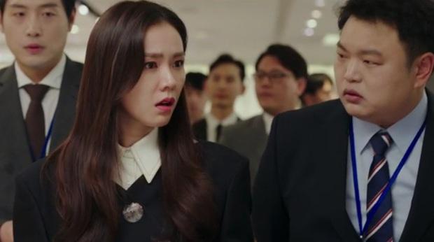 Tự tạo phốt với idol để tăng doanh thu, Son Ye Jin ăn đậm quyền thừa kế tỉ đô ngay tập 1 Crash Landing On You - Ảnh 1.