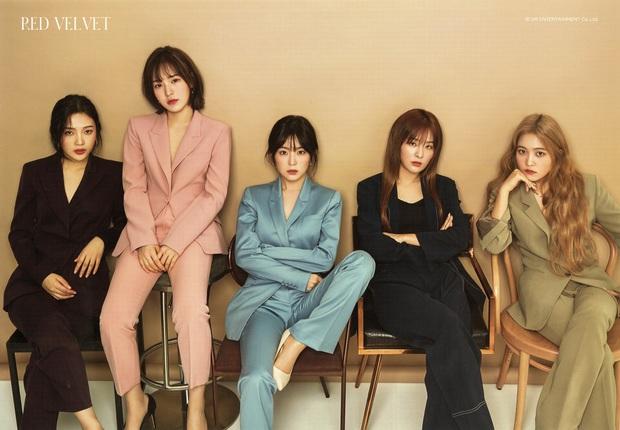 Red Velvet đẹp bá đạo khi diện suit và lột xác thành công nhất chính là Irene - Ảnh 1.
