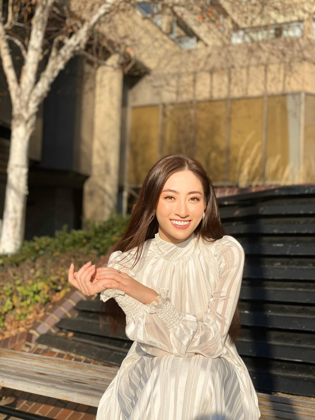 Đẳng cấp nhan sắc của Lương Thùy Linh: Trung thành với duy nhất một kiểu make up thẳng tiến vào Top 12 Miss World 2019 - Ảnh 2.