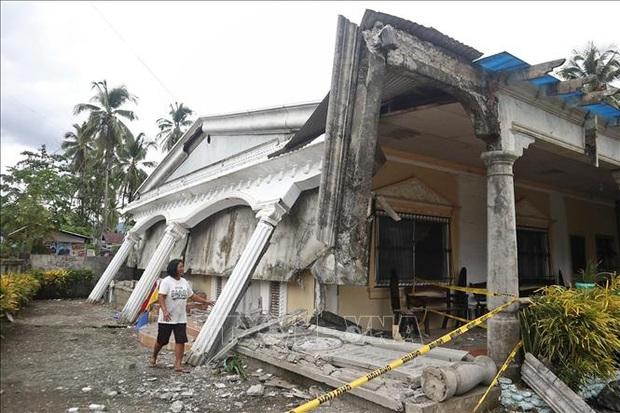 Động đất mạnh tại Philippines, một bé gái 6 tuổi thiệt mạng  - Ảnh 1.