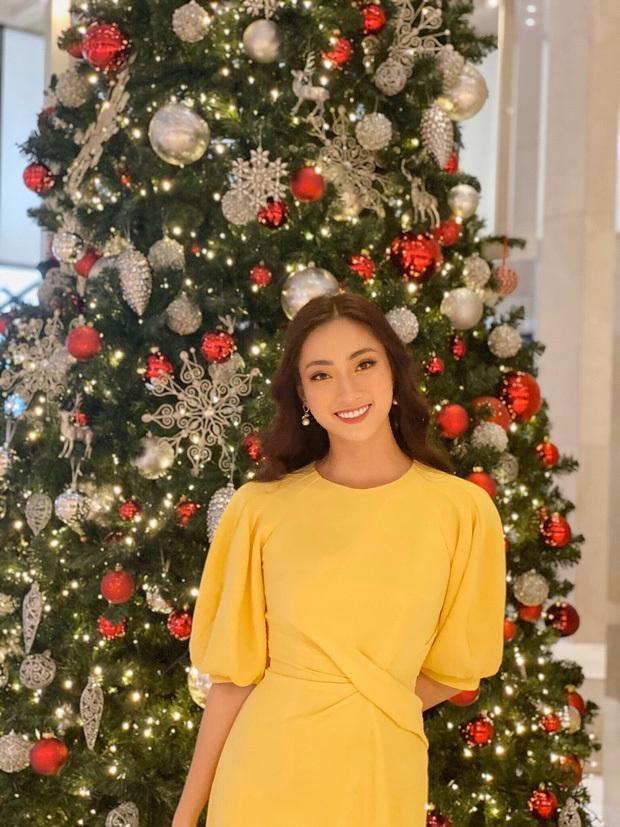 Đẳng cấp nhan sắc của Lương Thùy Linh: Trung thành với duy nhất một kiểu make up thẳng tiến vào Top 12 Miss World 2019 - Ảnh 3.