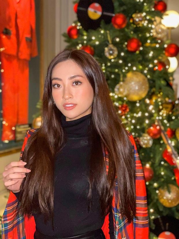 Đẳng cấp nhan sắc của Lương Thùy Linh: Trung thành với duy nhất một kiểu make up thẳng tiến vào Top 12 Miss World 2019 - Ảnh 4.