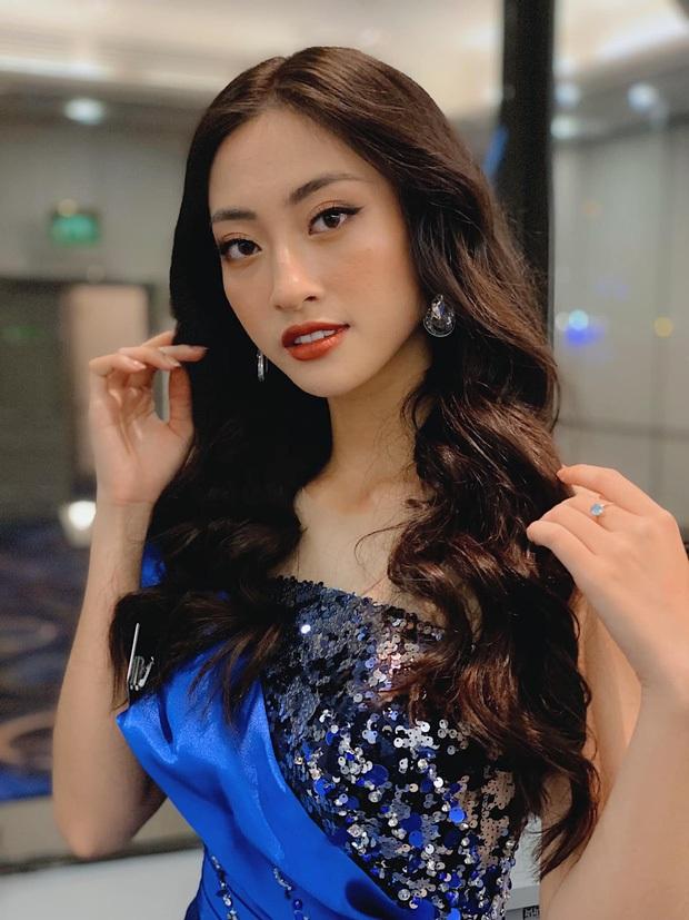 Đẳng cấp nhan sắc của Lương Thùy Linh: Trung thành với duy nhất một kiểu make up thẳng tiến vào Top 12 Miss World 2019 - Ảnh 5.