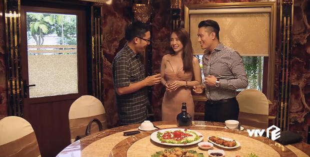 Việt Anh lên lớp dạy gái ngành Quỳnh Nga cách tiếp dầu trên không khiến sếp lớn mê tít ở Sinh Tử tập 30 - Ảnh 3.
