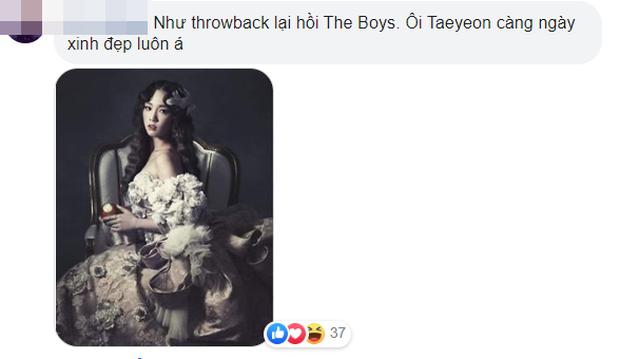 """Taeyeon (SNSD) """"gây bão"""" vì ảnh tạp chí giống hệt tạo hình trong """"The Boys"""" cách đây 8 năm, chị ăn thịt Đường Tăng hay sao mà trẻ lâu quá vậy? - Ảnh 9."""