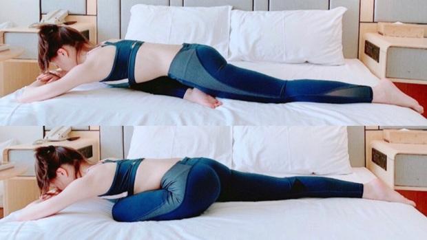 Muốn giảm size đùi và bụng mà lười tới phòng tập: thử ngay 4 bài tập trên giường để nhìn rõ sự thay đổi - Ảnh 3.