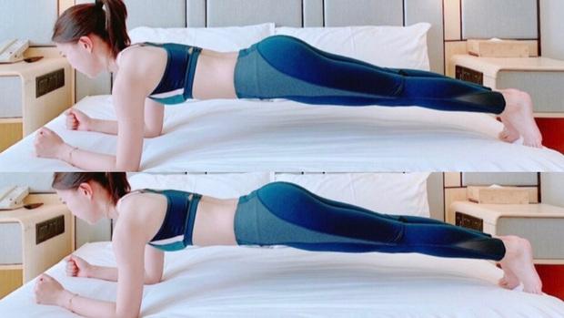 Muốn giảm size đùi và bụng mà lười tới phòng tập: thử ngay 4 bài tập trên giường để nhìn rõ sự thay đổi - Ảnh 4.