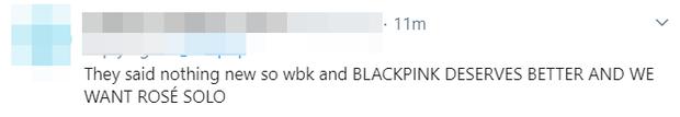 """YG vội vàng hứa cho BLACKPINK comeback vào đầu năm 2020 sau khi bị fan uy hiếp, BLINK phản ứng: """"Đừng hứa nữa tôi mệt rồi""""! - Ảnh 4."""