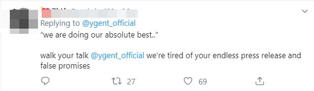 """YG vội vàng hứa cho BLACKPINK comeback vào đầu năm 2020 sau khi bị fan uy hiếp, BLINK phản ứng: """"Đừng hứa nữa tôi mệt rồi""""! - Ảnh 7."""