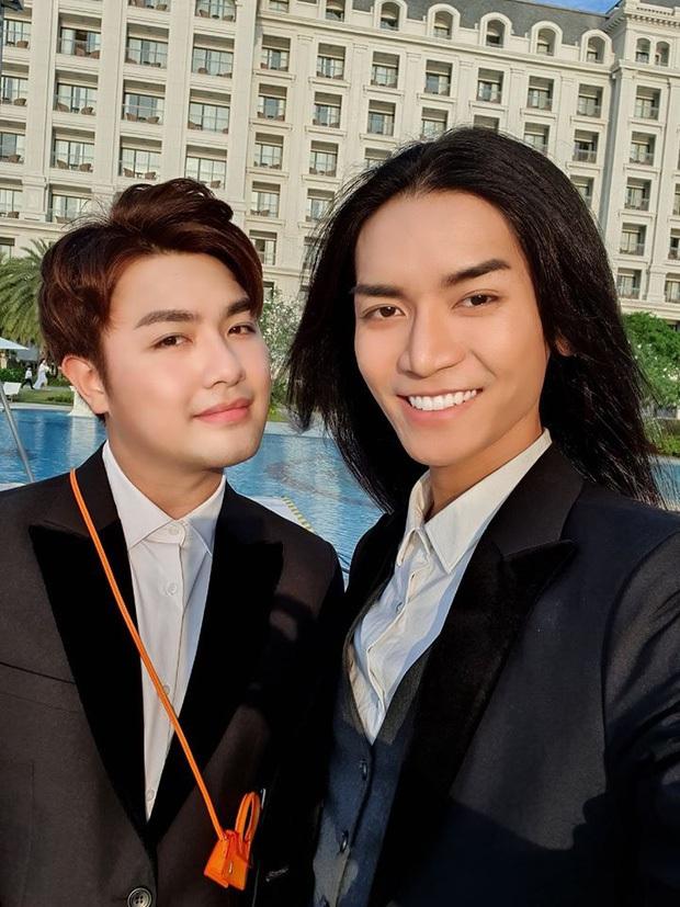 BB Trần gây bão chỉ với 2 bức ảnh: Diện áo dài nền nã, tự nhận đẹp như cô dâu Việt - chú rể Hàn bên bạn trai - Ảnh 4.