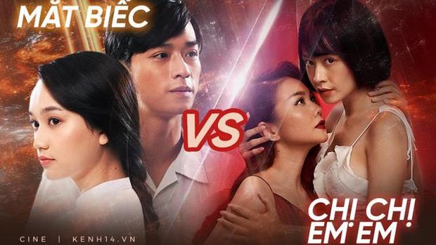 Mắt Biếc - Chị Chị Em Em sẽ tái diễn màn đấu tố drama đầu năm của Cua Lại Vợ Bầu - Trạng Quỳnh giữa CGV và Galaxy? - Ảnh 8.