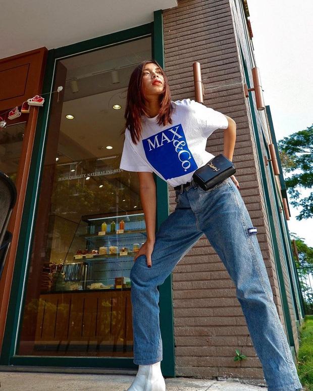 Street style sao Việt: Diệu Nhi mặc quần chói lòa như một quả cầu disco liệu có đủ ăn thua với Chi Pu hở bạo hết nút? - Ảnh 12.