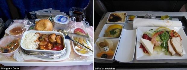 """Sự khác biệt """"một trời một vực"""" giữa suất ăn hạng thương gia và hạng phổ thông trên máy bay, tiền nào của nấy không lệch đi đâu được - Ảnh 8."""