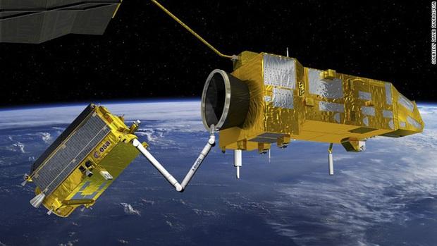 170 triệu mảnh rác trôi quanh quỹ đạo - Châu Âu gửi người máy lên để dọn dẹp - Ảnh 1.