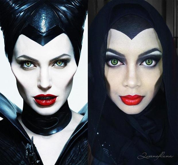Từ dị nhân của phim X-Men cho đến kẻ phản diện trong vũ trụ điện ảnh Disney, cô gái tự tin cosplay thành bất cứ ai chỉ với tấm khăn Hijab - Ảnh 20.
