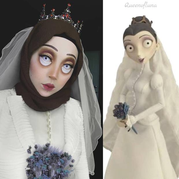 Từ dị nhân của phim X-Men cho đến kẻ phản diện trong vũ trụ điện ảnh Disney, cô gái tự tin cosplay thành bất cứ ai chỉ với tấm khăn Hijab - Ảnh 6.
