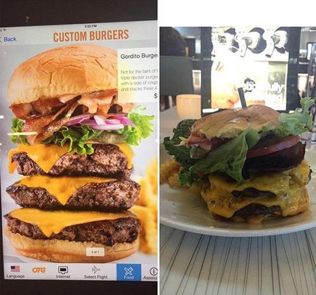 Loạt ảnh trên menu - ngoài đời là minh chứng cho sự vỡ vụn của thực khách khi đi nhà hàng: Bạn đã bị lừa! (Phần 2) - Ảnh 11.