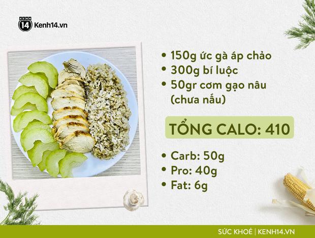 Gợi ý thực đơn Eat Clean dễ làm cùng cách tính lượng calo chuẩn xác từ cô gái Hà Thành - Ảnh 4.