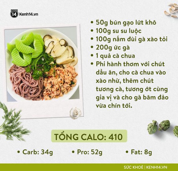 Gợi ý thực đơn Eat Clean dễ làm cùng cách tính lượng calo chuẩn xác từ cô gái Hà Thành - Ảnh 13.