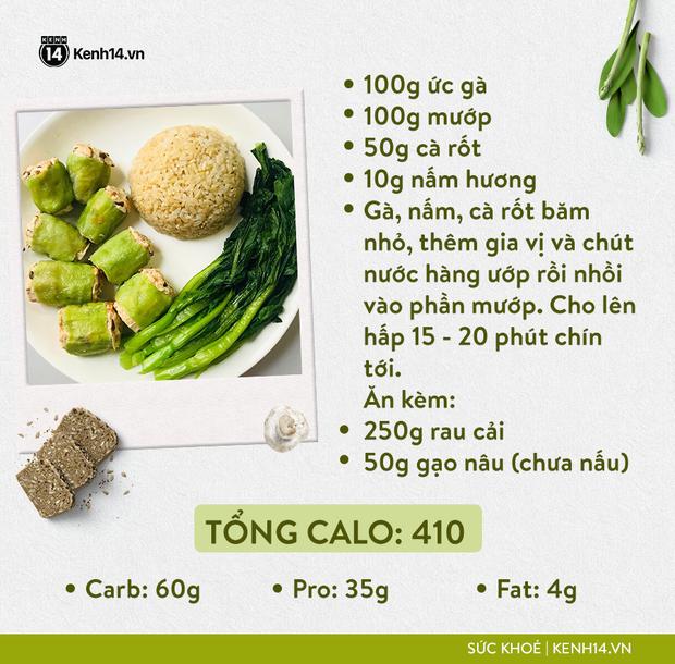 Gợi ý thực đơn Eat Clean dễ làm cùng cách tính lượng calo chuẩn xác từ cô gái Hà Thành - Ảnh 14.