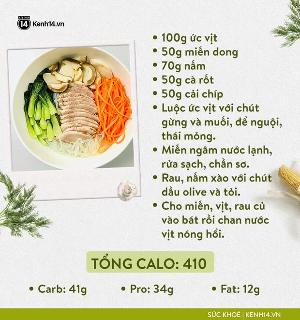 Gợi ý thực đơn Eat Clean dễ làm cùng cách tính lượng calo chuẩn xác từ cô gái Hà Thành - Ảnh 6.
