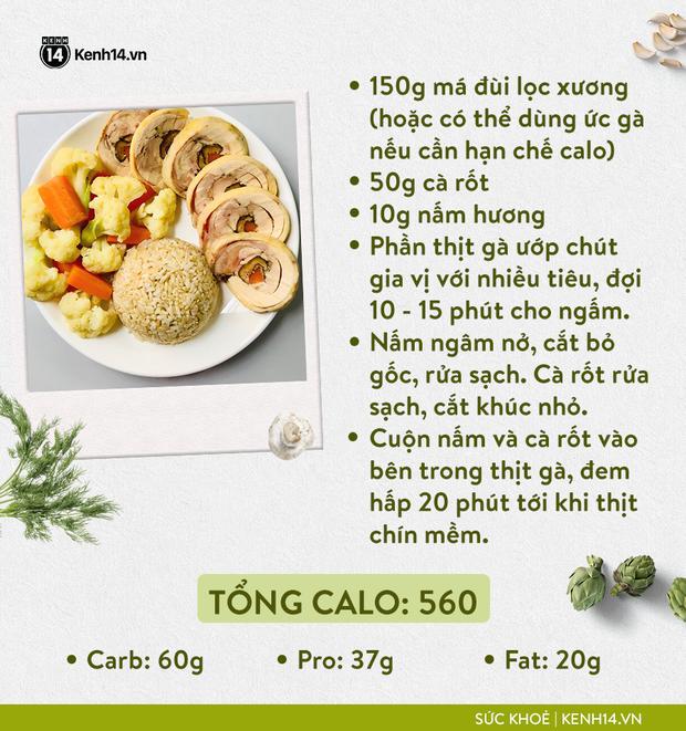 Gợi ý thực đơn Eat Clean dễ làm cùng cách tính lượng calo chuẩn xác từ cô gái Hà Thành - Ảnh 7.