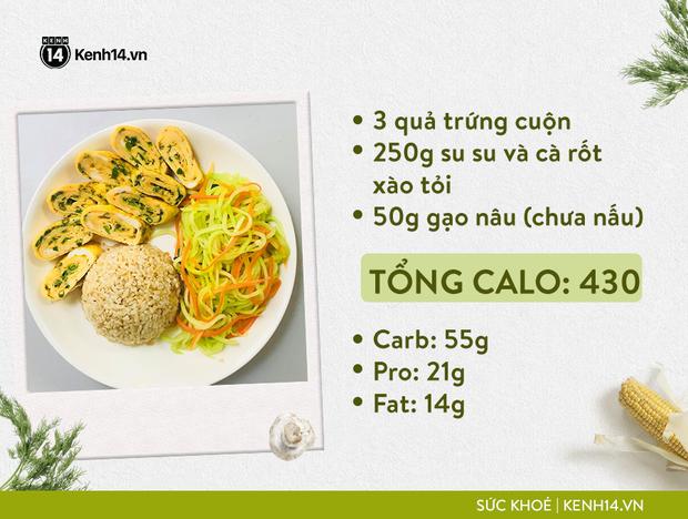 Gợi ý thực đơn Eat Clean dễ làm cùng cách tính lượng calo chuẩn xác từ cô gái Hà Thành - Ảnh 9.