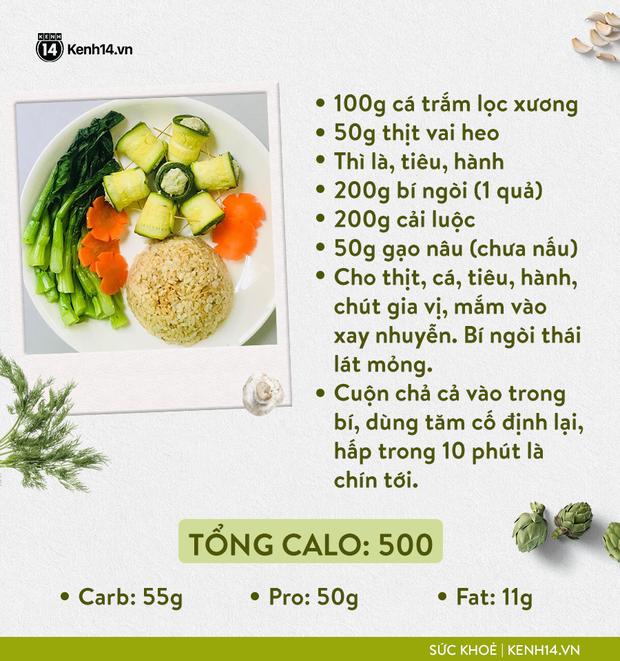Gợi ý thực đơn Eat Clean dễ làm cùng cách tính lượng calo chuẩn xác từ cô gái Hà Thành - Ảnh 10.