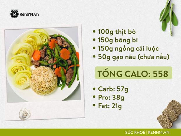 Gợi ý thực đơn Eat Clean dễ làm cùng cách tính lượng calo chuẩn xác từ cô gái Hà Thành - Ảnh 11.