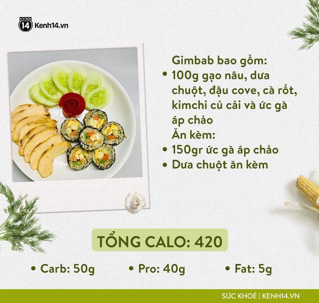 Gợi ý thực đơn Eat Clean dễ làm cùng cách tính lượng calo chuẩn xác từ cô gái Hà Thành - Ảnh 12.