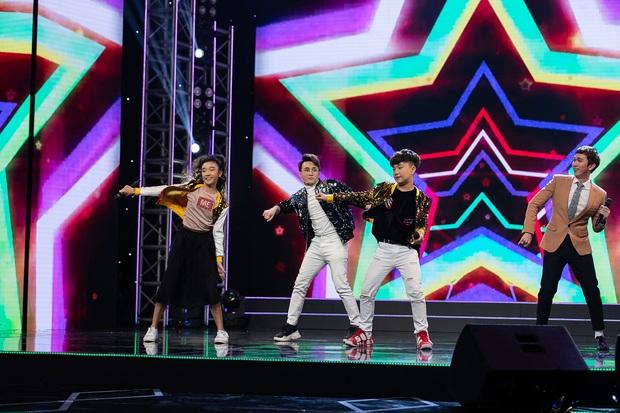 Cặp đôi vàng nhí: Được Huỳnh Lập khen ngợi và nhảy cùng, hot boy lai Hàn vẫn ngậm ngùi ra về - Ảnh 4.