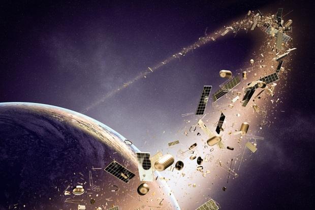 170 triệu mảnh rác trôi quanh quỹ đạo - Châu Âu gửi người máy lên để dọn dẹp - Ảnh 2.