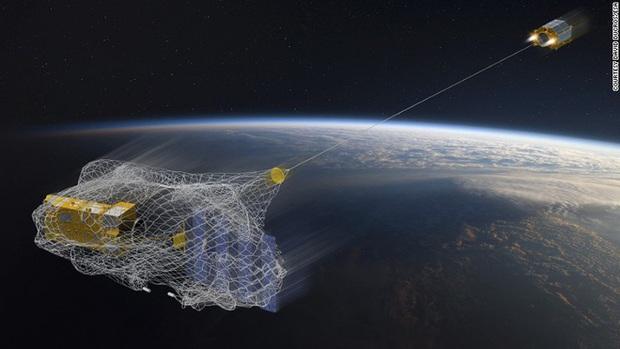 170 triệu mảnh rác trôi quanh quỹ đạo - Châu Âu gửi người máy lên để dọn dẹp - Ảnh 3.